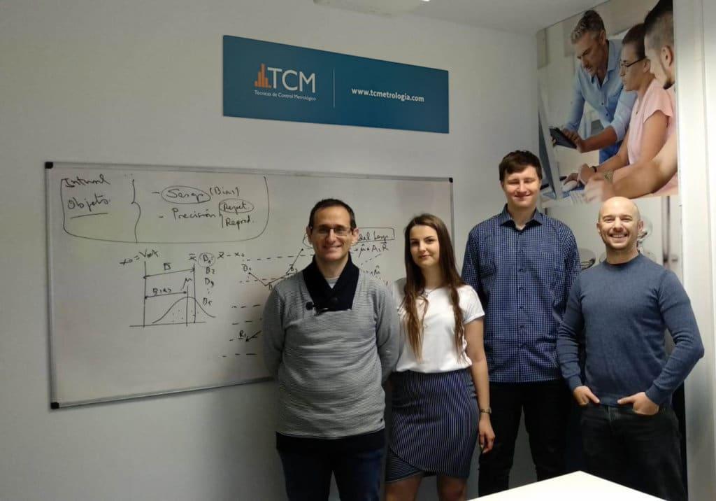 TCM participa en el programa de practicas de Erasmus+