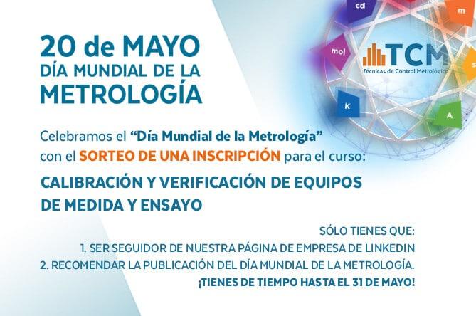 Celebra el día Mundial de la Metrología con TCM