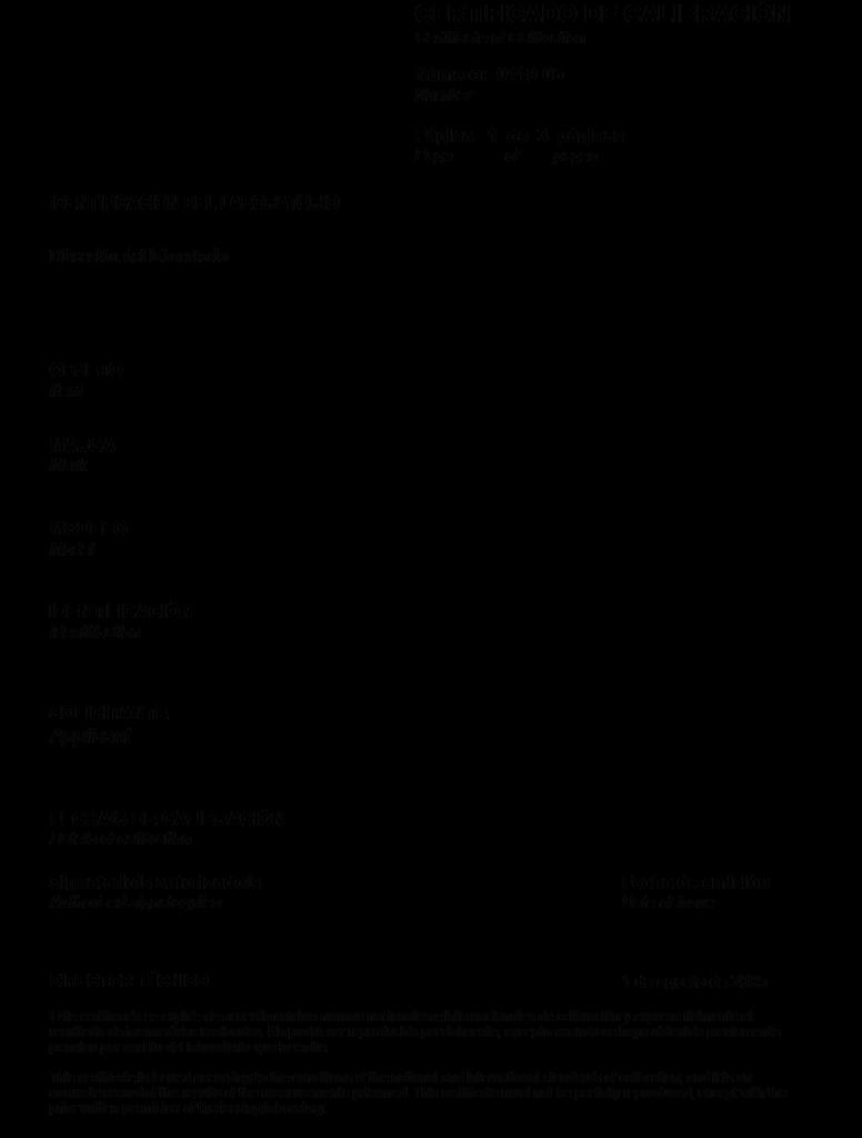 TCM - Modelo de Certificado de Calibración