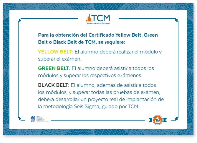Certificación Seis Sigma - TCM