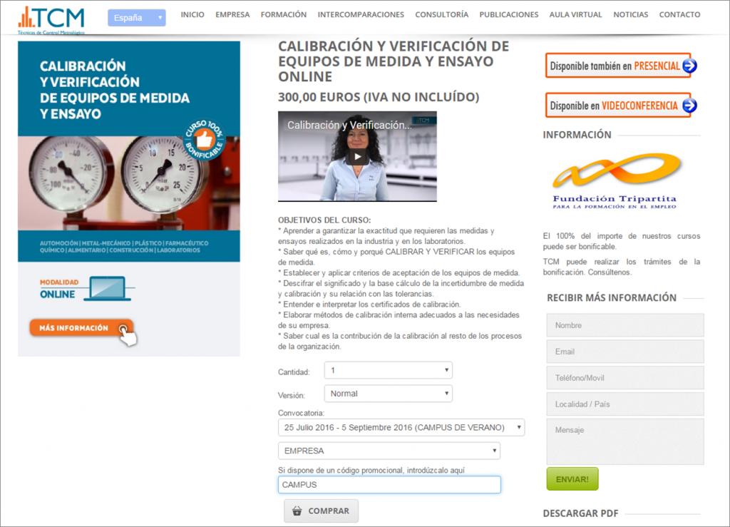 campus de verano online TCM España